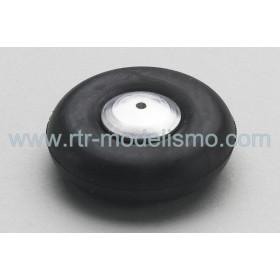 Tailwheel 30mm, aluminium hub (1pc)