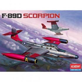 Academy 1/72 F-89D Scorpion-AD12403 (4)