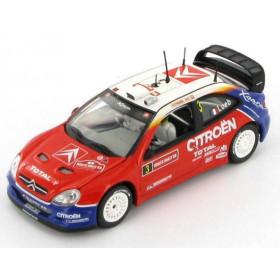 Citroen Xsara WRC S.Loeb/D.Elena Wales Rally GB 2004-VI43214 (2)