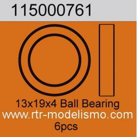 13x19x4 Ball Bearing 6pcs-115000761