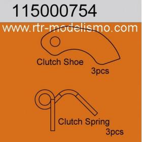 Clutch shoe & Spring Set-115000754