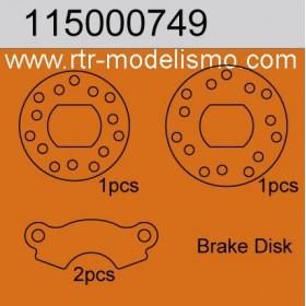 Brakedisk / caliper Set-115000749