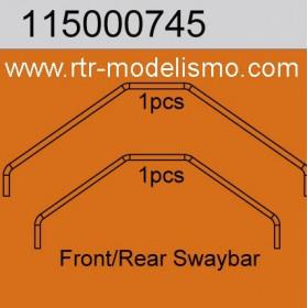Swaybar F&R Medium-115000745