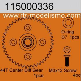 44T Center Diff Gear 1pc-115000736