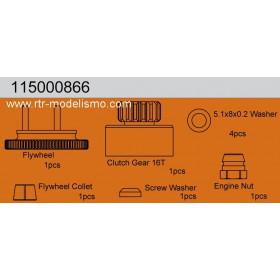FLYWHEEL/CLUTCH GEAR 16T-115000866