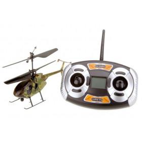 Helicóptero Nine Eagle Bravo III 2.4Ghz 4ch Verde Camuflado c/ Mala Aluminio + 2 Baterias-NE-NE312A01 (3)