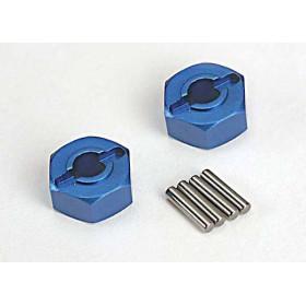 Hexagonos de roda 12mm em aluminio (2)-TRX-1654X