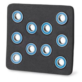 Kit rolamentos 12mm/6mm/4mm (10)-3010001 (2)