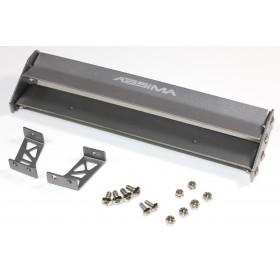Aileron em Alumínio 1:10 165mm Preto-2320009