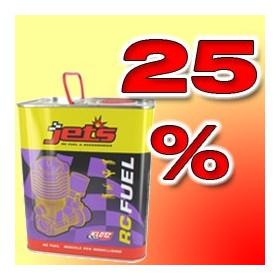 Combustível 25% 2.5L-JTEX60/2