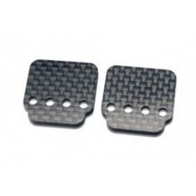Axial Carbon Fiber Hump Pack Battery Plate (2pcs)-AX30508