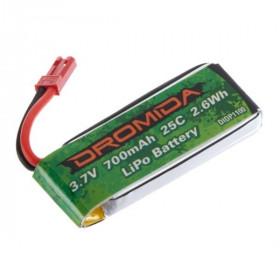 Bateria de LI-PO Ominus 1S 3.7V 700mah-DIDP1100