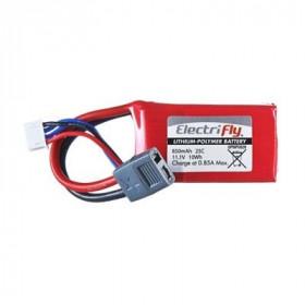 LiPo ElectriFly 3S 11,1V 850mAh 25C-GPMP0826