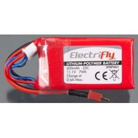 LiPo ElectriFly 3S 11,1V 600 mAh 25C-GPMP0821