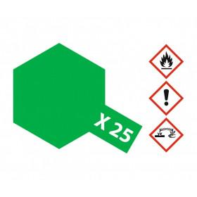 Tinta Acrílica Verde Claro X-25 - 87-81025