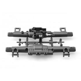 Caixa de transmissão traseira-AX80065