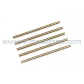 Pernos Roscados, M3X30, Steel (5pcs)-GF-0160-002