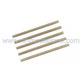 Pernos Roscados, M3X40, Steel (5pcs)-GF-0160-003
