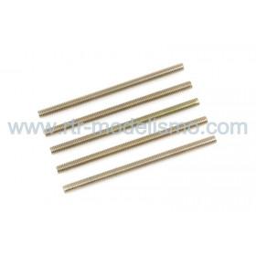 Pernos Roscados, M4X30, Aço (5pcs)-GF-0160-008