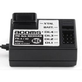 Receptor 4 Canais 40MHz FM-122101