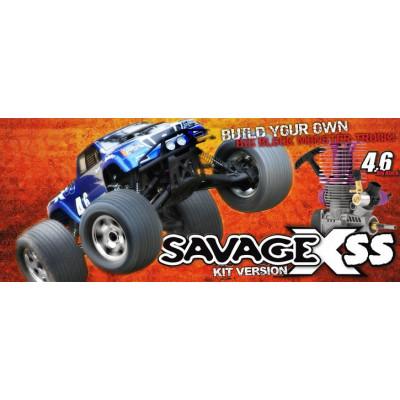 Savage X SS 4.6 KIT W/4.6 Engine Big Block