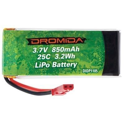 Bateria de LiPo 850mAh 3.7V 1S