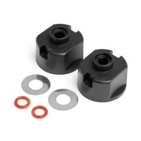 Differential Case, Seals & Washers (2Pcs)