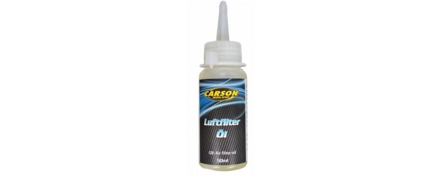 Acessórios - Óleo/Silicone - Filtro de ar